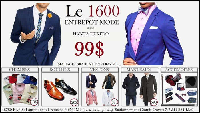 87b9fb29d7 Menswear Warehouse Sale