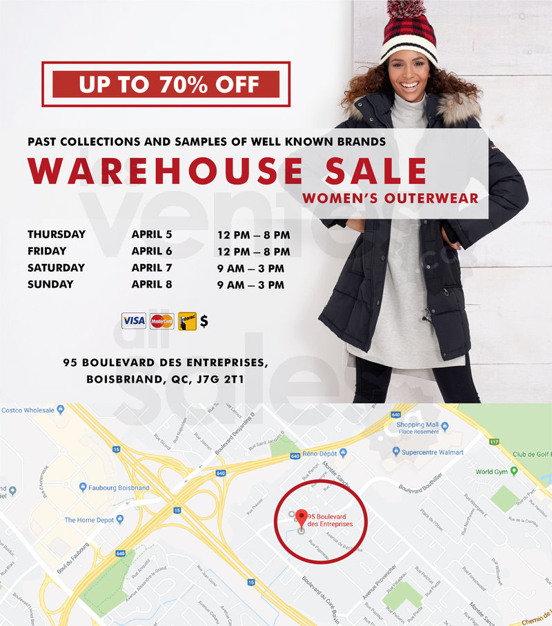 269b6e40b2 You re invited to AJG Apparel Inc. s warehouse sale! Only from April 5th to  8th