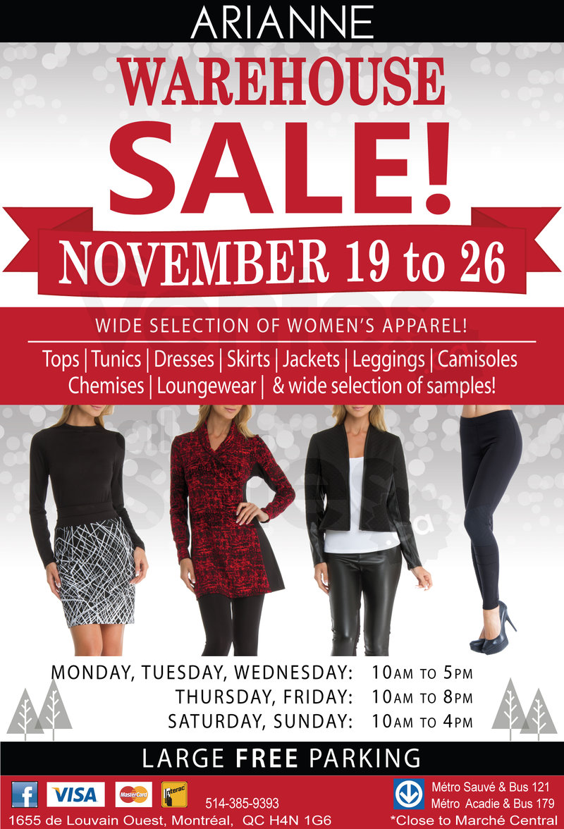 fb0051fb5a Arianne Lingerie pre-Christmas sale is on from November 19th to November  26th! Save up to 80% off on a wide selection of women s apparel  tops