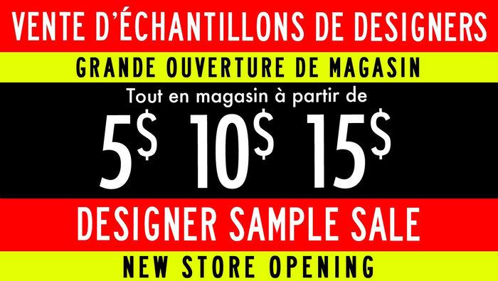 Designer Sample Sale from $5-$10-$15   allsales ca