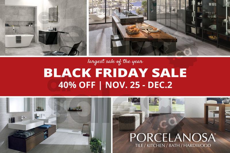 Porcelanosa 40 Black Friday Sale