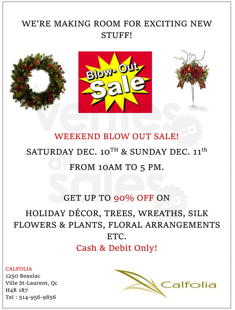 Holiday Decor Blow Out Sale Up To 90 Allsales