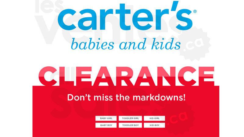Carter's & Oshkosh kids clearance | allsales.ca