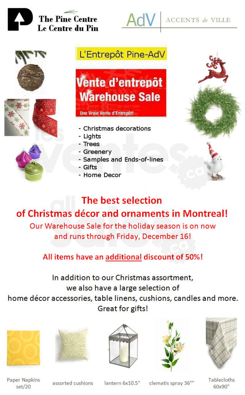 Christmas Decor Sale  Save an extra 50  allsalesca
