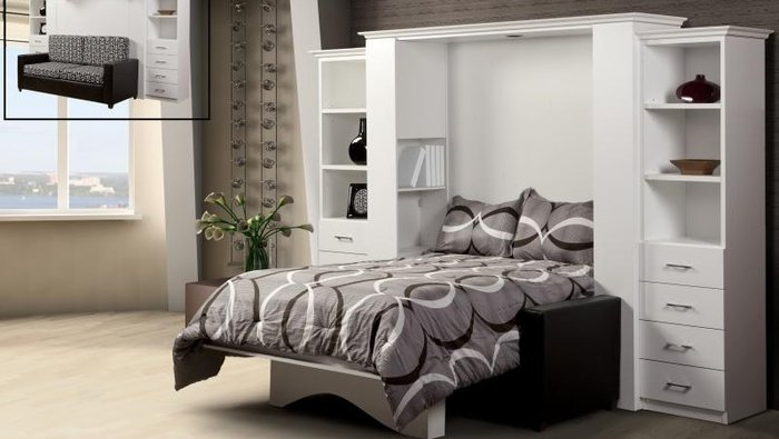 Wall beds from 699 taxes paid for Meuble ashley quebec