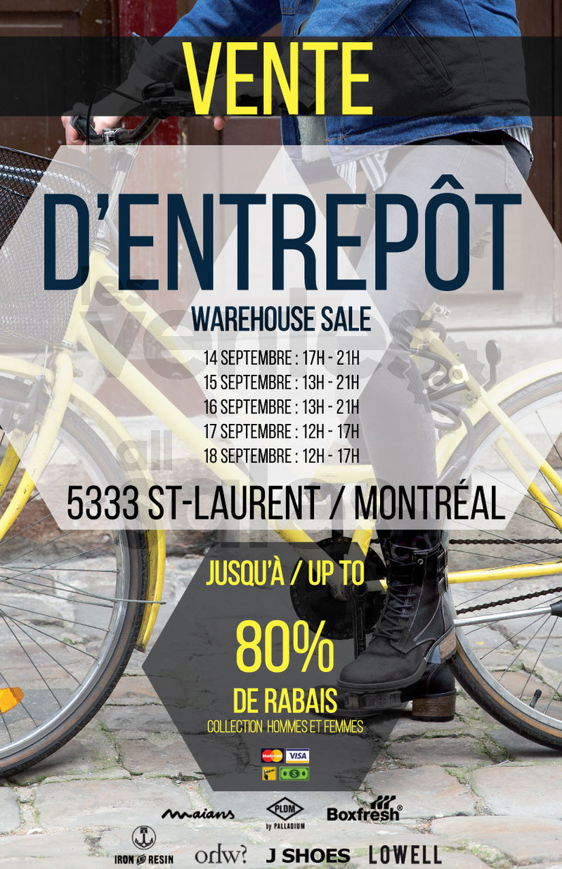 M M Shoes Warehouse Sale Montreal