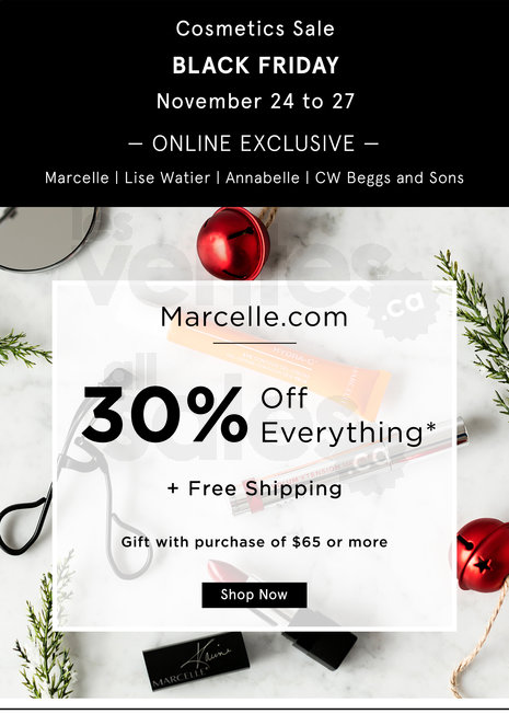 Marcelle Black Friday