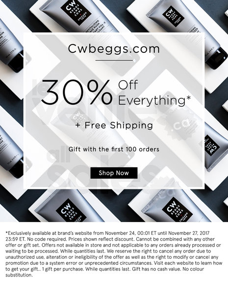 CWBeggs Black Friday
