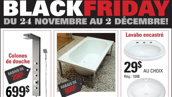 Black Friday Sale: Bath, shower, faucet | allsales.ca