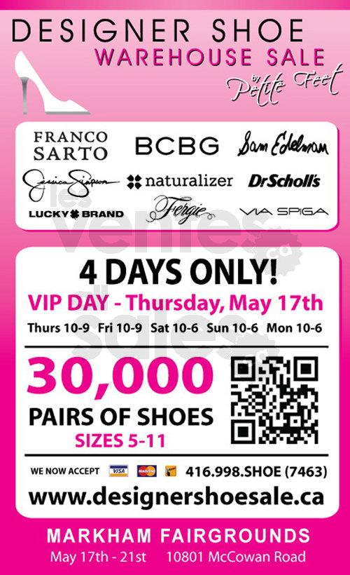 Toronto Designer Shoe Sale | allsales.ca