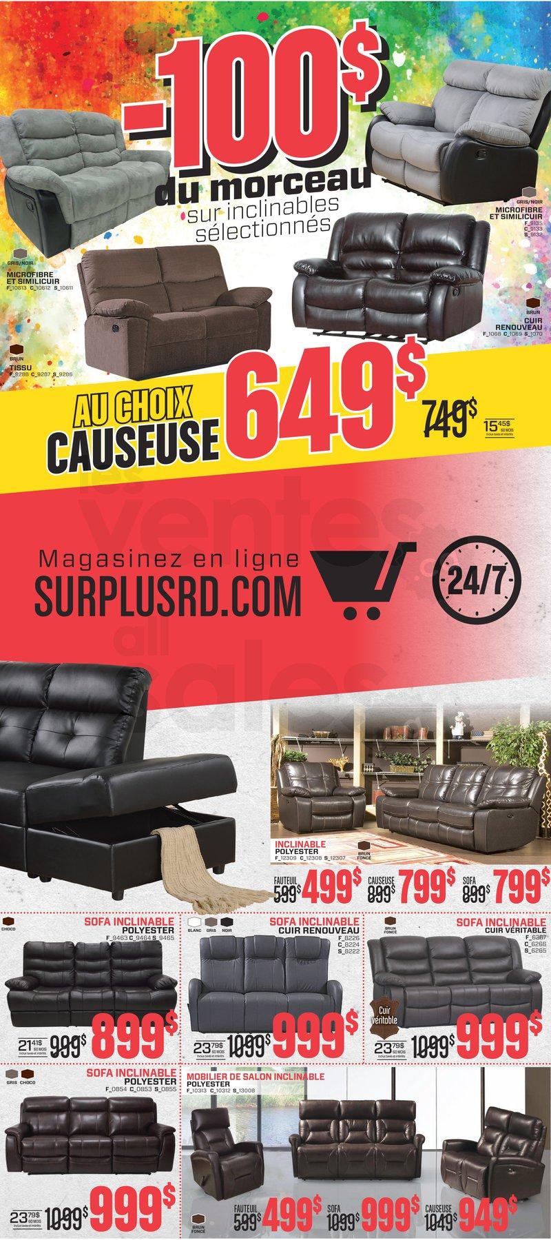 Surplus Rd Furniture Liquidation Allsalesca