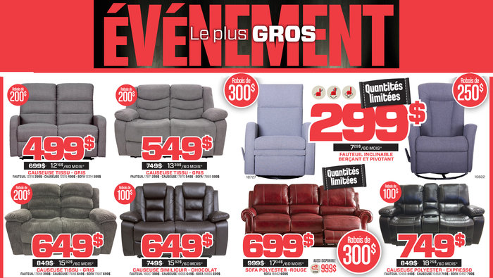 Additional Discounts On All Recliners Allsalesca
