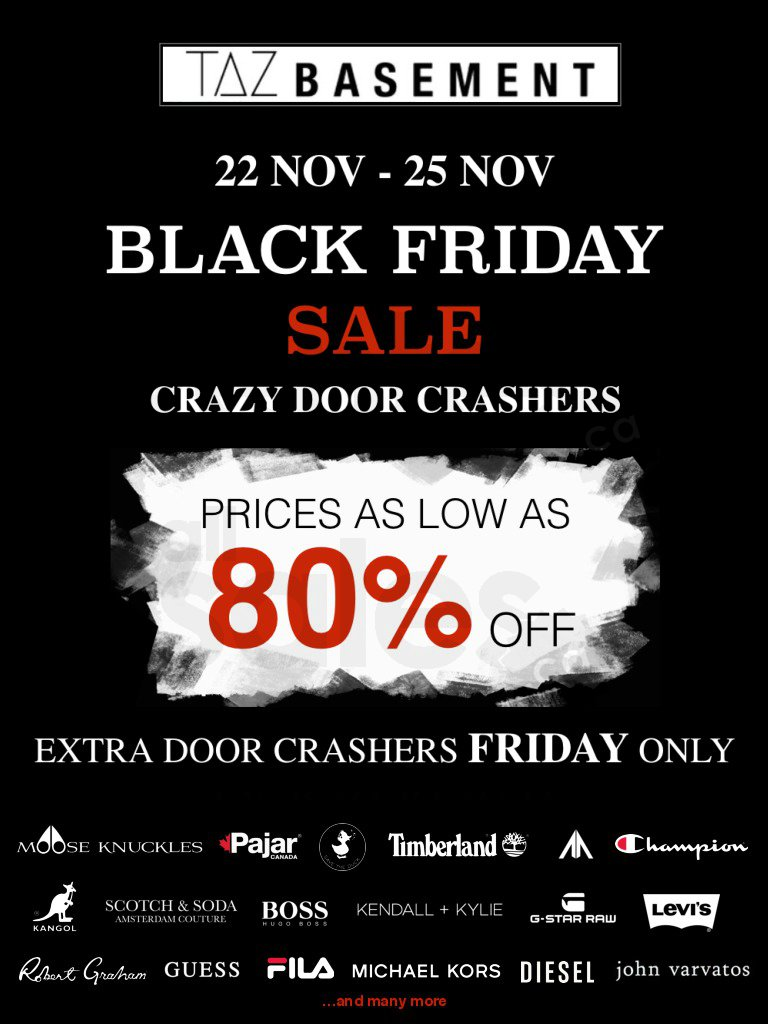 0bd85ae5a4a Taz Basement Black Friday Sale up to 80%