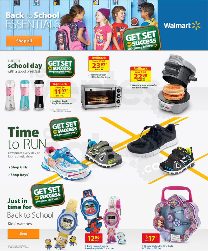 Back to school essentials at walmart for All home accessories