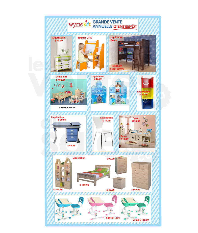 Kids Furniture Warehouse Sale Up To 60