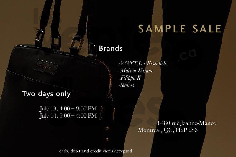 filippa k sample sale