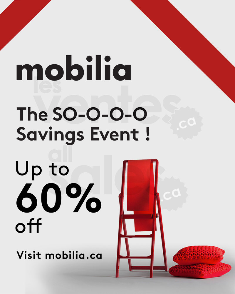 Mobilia savings event up to 60 off for Mobilia opening hours